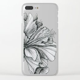 flor Clear iPhone Case