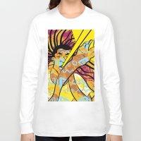 jazz Long Sleeve T-shirts featuring Jazz by Sanfeliu