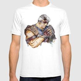 War-torn T-shirt