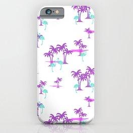 Oasis (Indian Magenta) iPhone Case