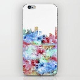 Detroit City Skyline Michigan iPhone Skin