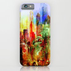 welcome to scary city iPhone 6s Slim Case