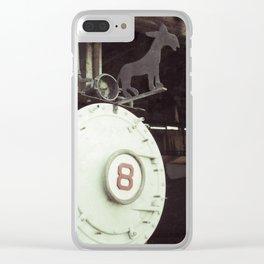 Locomotive 8 Clear iPhone Case