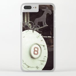 Locomotive 8 Clear iPhone Case