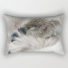 Sleepy Cygnet Rectangular Pillow