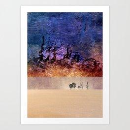 Desert-Dream 2 Art Print