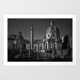 downtown Rome Art Print