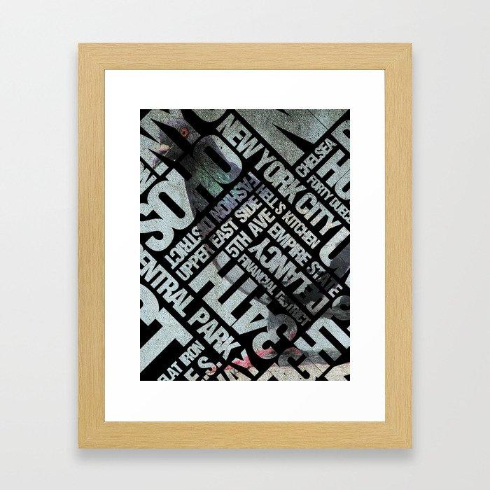 Birdway Framed Art Print