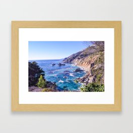 California Dreamin - Big Sur Framed Art Print