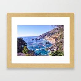 California Dreamin - Big Sur Framed Art Print