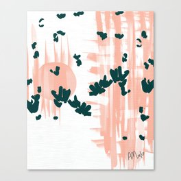 Morning Blooms Canvas Print
