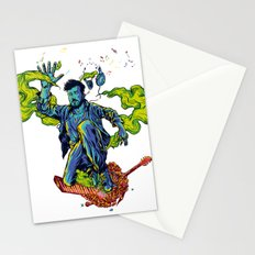 Music makes me lose control  Stationery Cards