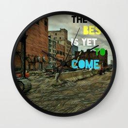 We Built this City! Wall Clock