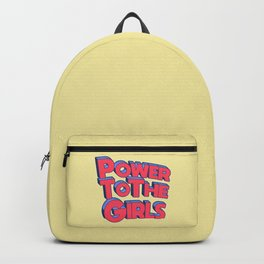 Power To The Girls Backpack