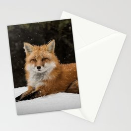 Artic Fox Stationery Cards