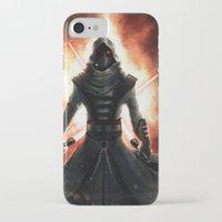 dark side iPhone & iPod Cases featuring Dark side by Michele Frigo