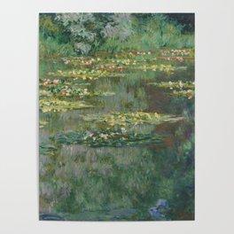 Monet, Le Bassin des Nympheas, 1904 Poster