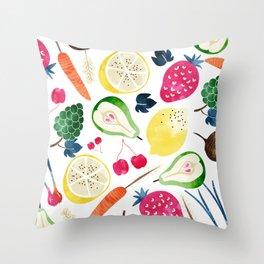 Veggie Heaven #society6 #society6artprint #buyart Throw Pillow