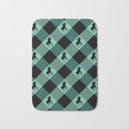 MOOSE CHECK Bath Mat