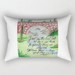 The Last Gift Rectangular Pillow