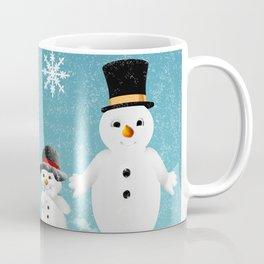 Christmas Snow Family Coffee Mug
