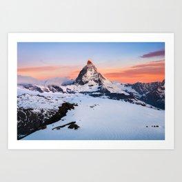 Matterhorn - Switzerland  (RR60) Art Print