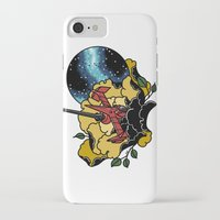 cowboy bebop iPhone & iPod Cases featuring Cowboy Bebop Swordfish II by Carrie South