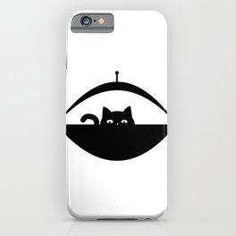 Invasive Species - UFO Cat iPhone Case