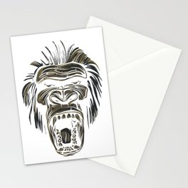 GORILLA KING KONG Stationery Cards