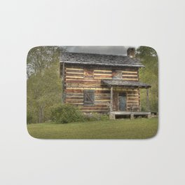 Old cabin in the hills Bath Mat