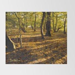 London Woods Throw Blanket