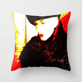 Cotton Club The Ice Queen Throw Pillow