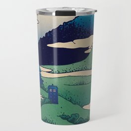 Doctor Who Mount Fuji - Mont Fuji - Tardis Travel Mug