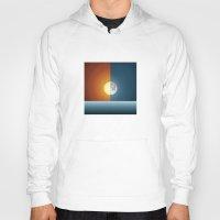 sun and moon Hoodies featuring Sun & Moon by Angelina Fenty