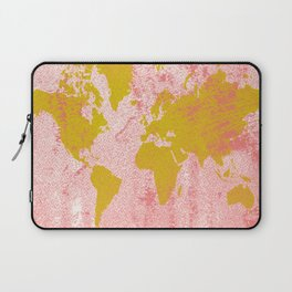 COME WITH ME AROUND THE WORLD Laptop Sleeve