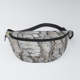 TEXTURES -- Spruce Bark Fanny Pack