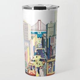 Sanfrancisco vintage mode Travel Mug