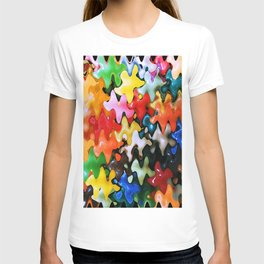 Abstract Of Colours T-shirt