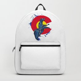 CO Standing Bear- Wild World Of Paper Series Backpack