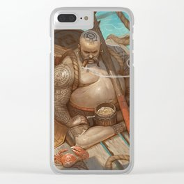 Defender of the rum Clear iPhone Case
