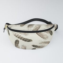 Pheasant Feather 2 Fanny Pack