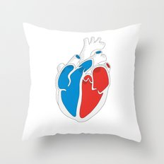 We Love Infographics Throw Pillow
