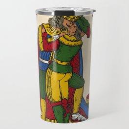 The Kiss (Neapolitan cards) Travel Mug