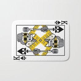 Dead King Card Bath Mat