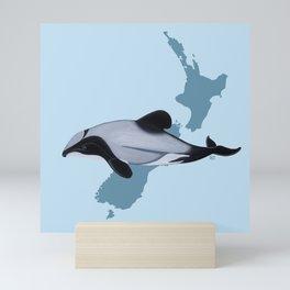 HECTOR'S DOLPHIN Mini Art Print