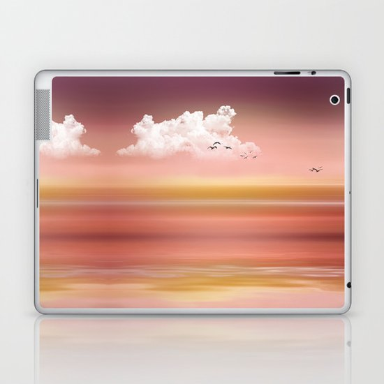 FROM DUSK TO DAWN - a golden sunset Laptop & iPad Skin