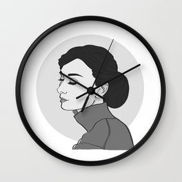 Miss Hepburn Wall Clock