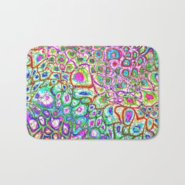 Colorful Synaptic Channels Bath Mat