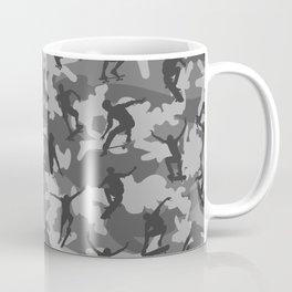 Skater Camo B&W Coffee Mug