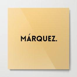 Gabriel Garcia Marquez Metal Print